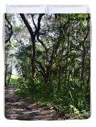Jackson's Gap Trail Duvet Cover