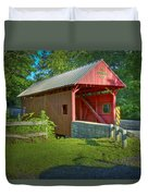 Jackson's Mill Covered Bridge Duvet Cover