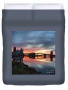 Jacksonville Sunrise Duvet Cover