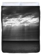 Jacobs Ladder At Dawn Duvet Cover