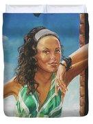 Jade Anderson Duvet Cover