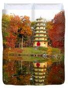 Jade Buddha Pagoda 4 Duvet Cover