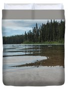 Jade Lake Duvet Cover