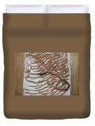 Jades Night Out - Tile Duvet Cover