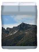 Jagged Mountain Duvet Cover