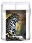 Jaguar At Rest Duvet Cover