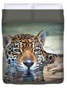 Jaguar Cooldown Duvet Cover
