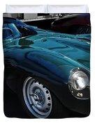 Jaguar D Type Duvet Cover