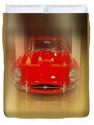 Jaguar E-type 1960s Duvet Cover