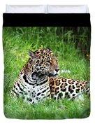 Jaguar Duvet Cover