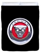 Jaguar Emblem Duvet Cover