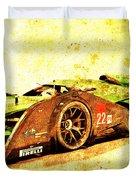 Jaguar Le Mans 2015, Race Car, Fast Car, Gift For Men Duvet Cover