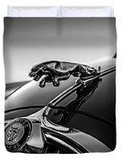 Jaguar Mascot Duvet Cover