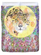 Jaguar Night Duvet Cover