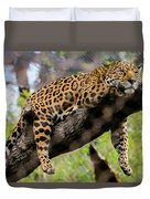 Jaguar Relaxation Duvet Cover
