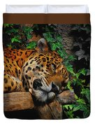 Jaguar Relaxing Duvet Cover