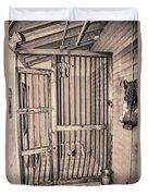 Jail House Interior Duvet Cover