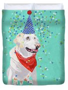 Jake The Party Animal Duvet Cover