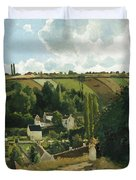 Jalais Hill At Pontoise Duvet Cover