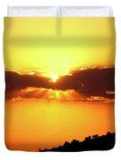 Jalisco Sunset Duvet Cover