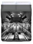 Jamaica Center Subway Station, Queens New York Duvet Cover