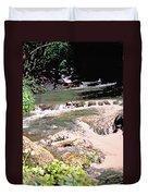 Jamaica Rushing Water Duvet Cover