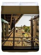 Jamaica Station Duvet Cover