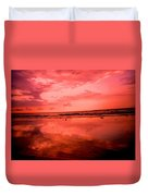 Jamaica Sunset Duvet Cover