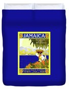 Jamaica, The Gem Of Tropics Duvet Cover