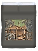 Jamaican Gate Duvet Cover by Jane Linders