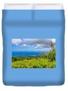 Jamaican Vista Duvet Cover