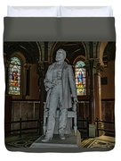 James A. Garfield Statue Duvet Cover