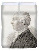 James Bruce, 1730 To 1794. Scottish Duvet Cover