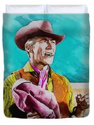 James Coburn Duvet Cover
