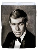 James Coburn, Vintage Actor Duvet Cover