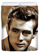 James Dean, Actor Duvet Cover