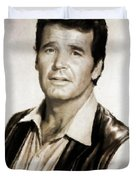 James Garner By Mb Duvet Cover