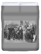 James I Appoints Bacon Lord Chancellor Duvet Cover