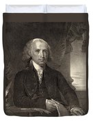 James Madison - Fourth President Of The United States Of America Duvet Cover