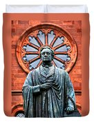 James Smithson Duvet Cover by Christopher Holmes