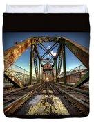 James Street Swing Bridge Duvet Cover