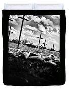 Jamestown Cemetery Duvet Cover