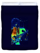 Jamie's Crying The Cosmic Blues In Spokane Duvet Cover