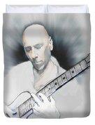 Jamming On Jazz Duvet Cover