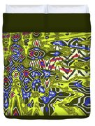 Janca Abstract # 6731eac1 Duvet Cover