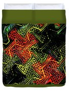Janca Abstract Panel #5473w3 Duvet Cover