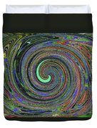 Janca Abstract Panel #5473w4 Duvet Cover