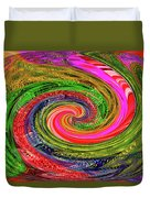 Janca Colors Panel Abstract # 5212 Wtw7abc Duvet Cover