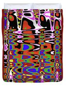 Jancart Drawing Abstract #8455pcws Duvet Cover