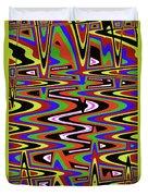 Jancart Drawing Abstract #8455ws Duvet Cover